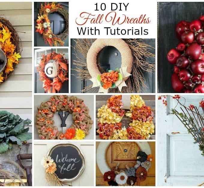10 DIY Fall Wreaths For Your Front Door