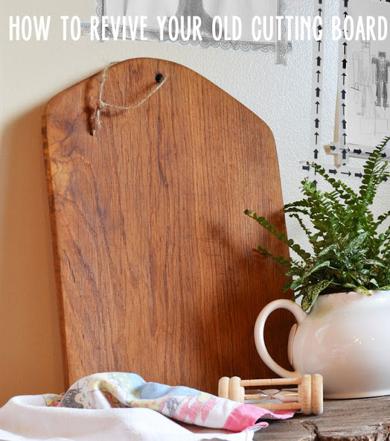 How to refresh cutting boards