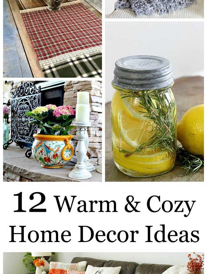 12 Cozy Home Decor Ideas