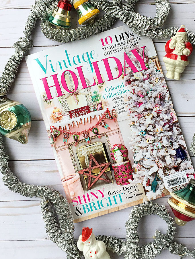 Vintage Holiday Magazine Feature