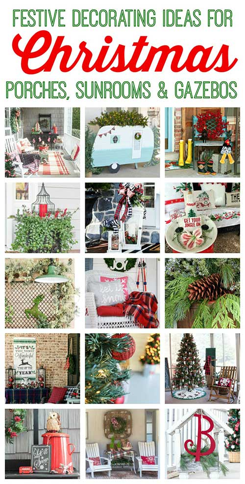 Festive ideas for decorating your porch this Christmas