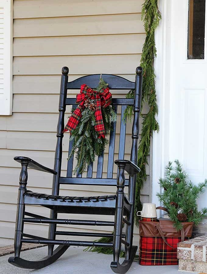Front Porch Christmas Decorations