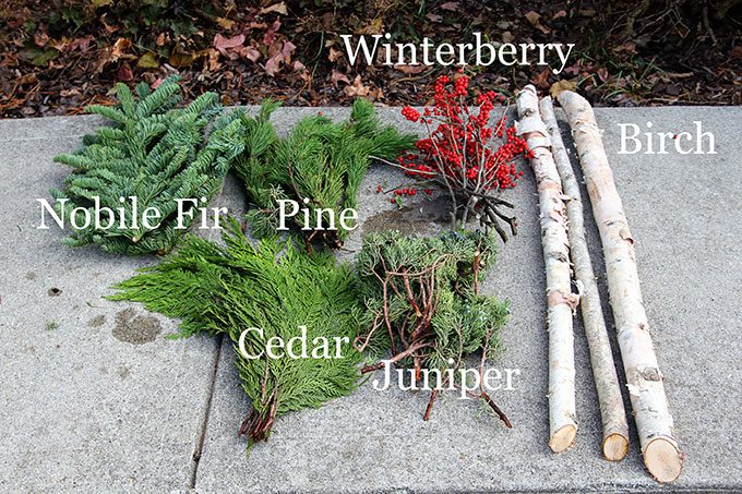 Outdoor Christmas Planters With Lights.How To Make Outdoor Christmas Planters House Of Hawthornes