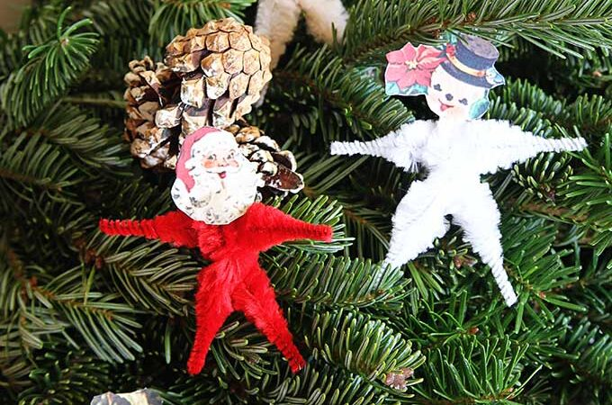 Chenille Pipe Cleaner Christmas Craft