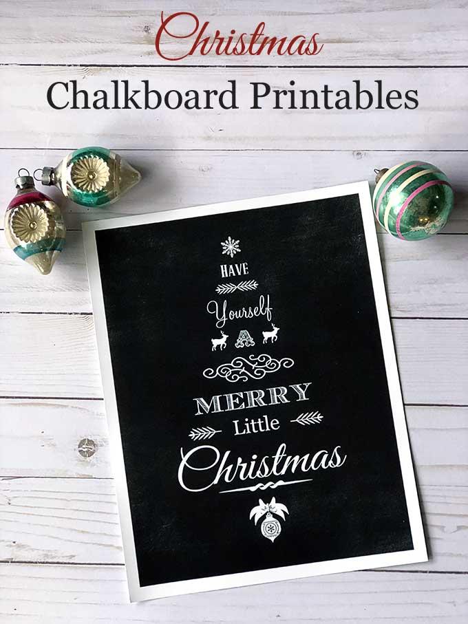 free Christmas printable shaped like Christmas tree