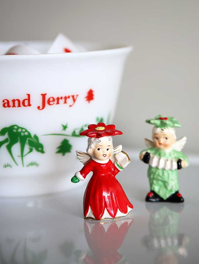 Retro Christmas Decor Around The House