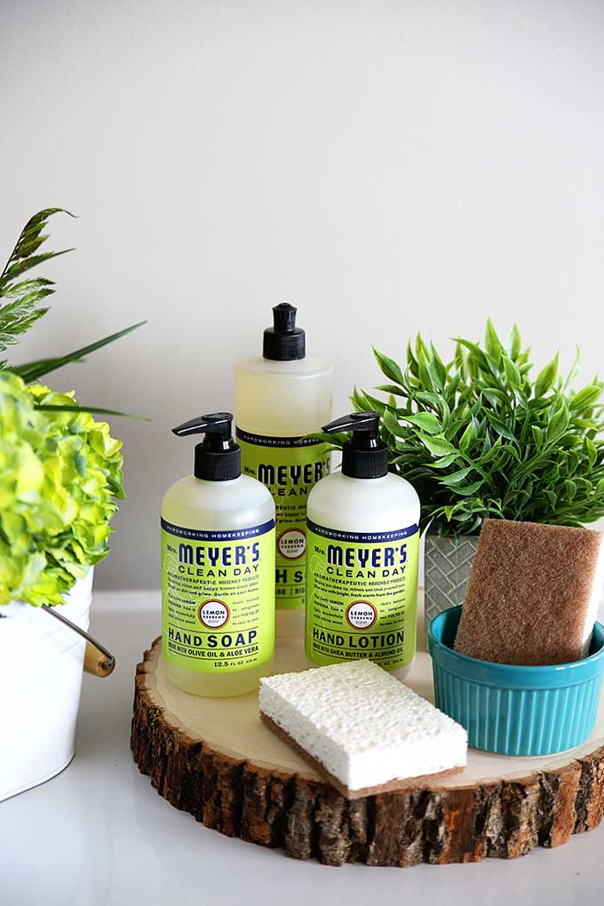 Mrs Meyer's cleaning products set FREE with additional purchase from Grove Collaborative. I am addicted to the lemon verbena scent!!!