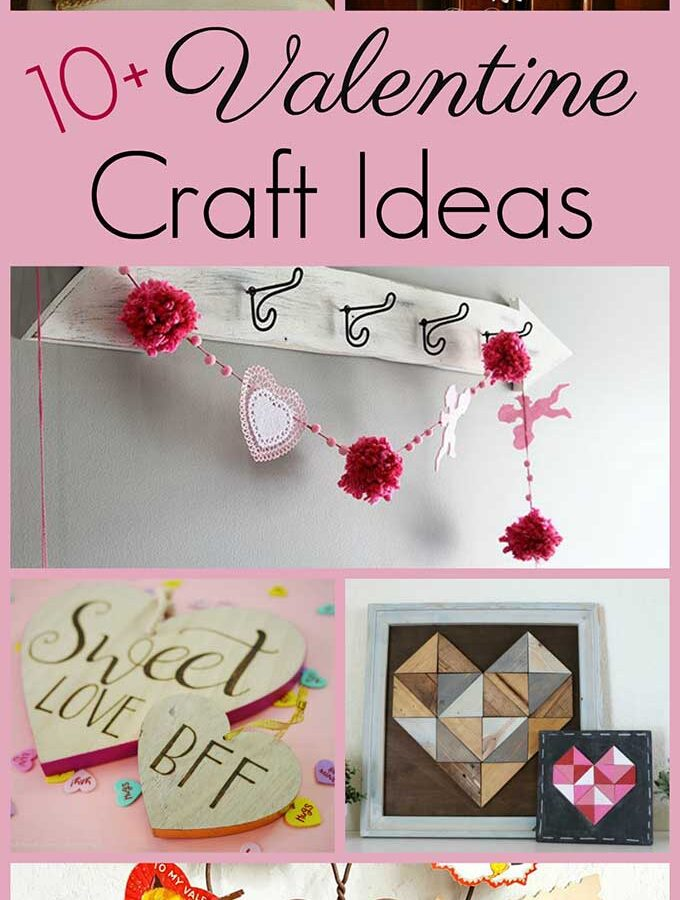 10+ Simple Valentine's Day Crafts
