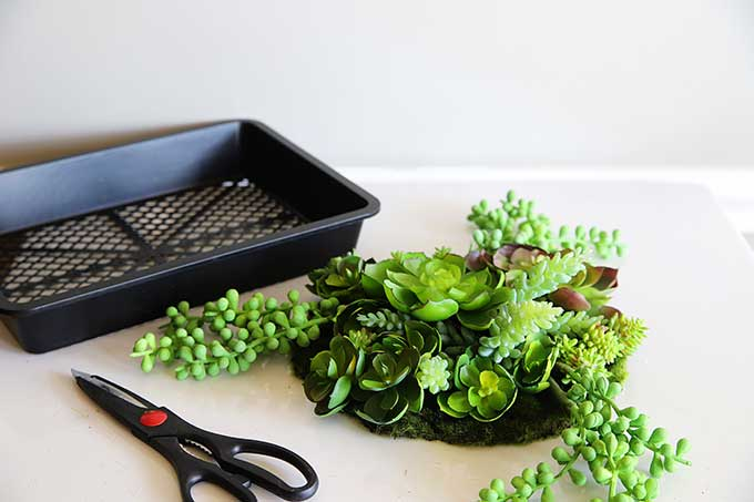 How to make artificial succulent garden