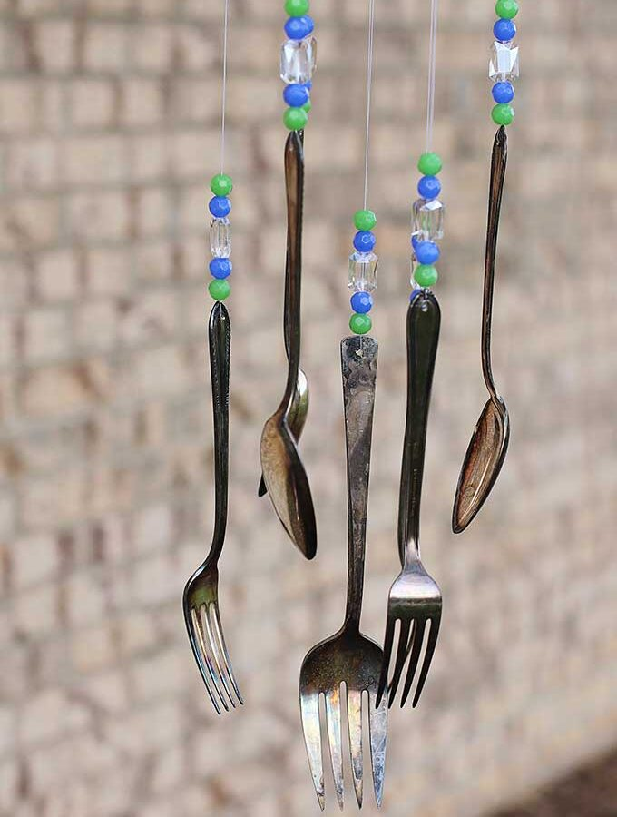 How To Make Silverware Wind Chimes