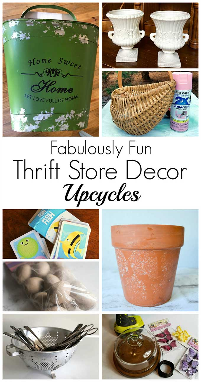 Thrift store upcycles