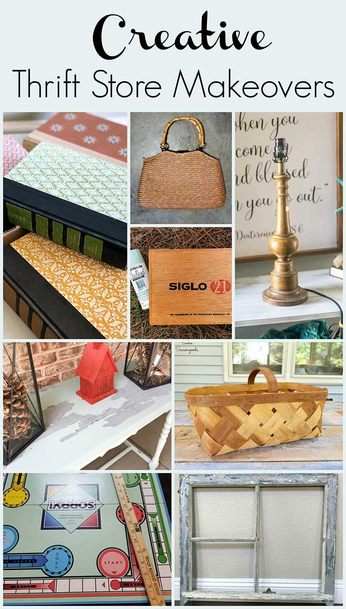 Creative thrift store makeovers