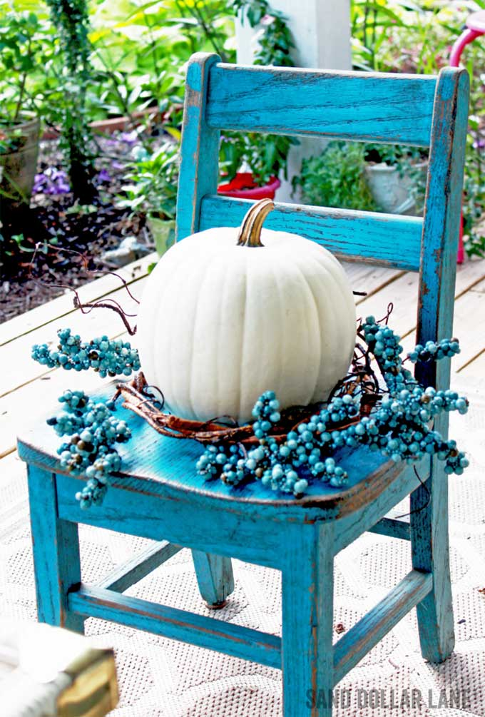 Coastal Fall Decor from Sand Dollar Lane