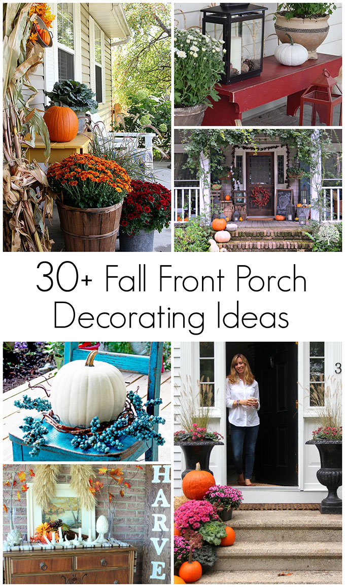 Tons Of Outdoor Fall Decorating Ideas And Inspiration To Cozy Up Your Porch,  Patio Or Deck For The Autumn Season.