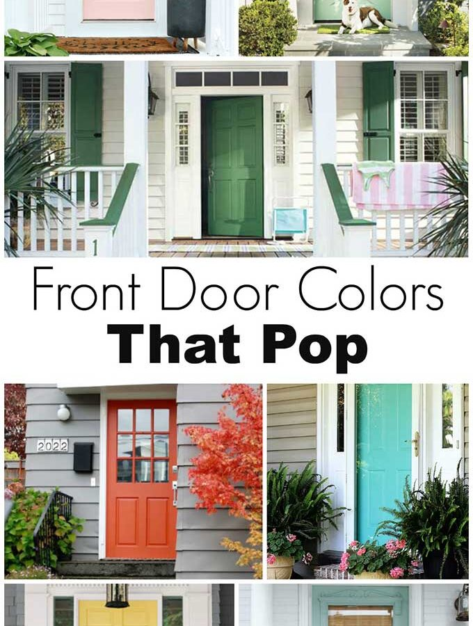 Front Door Colors That Pop