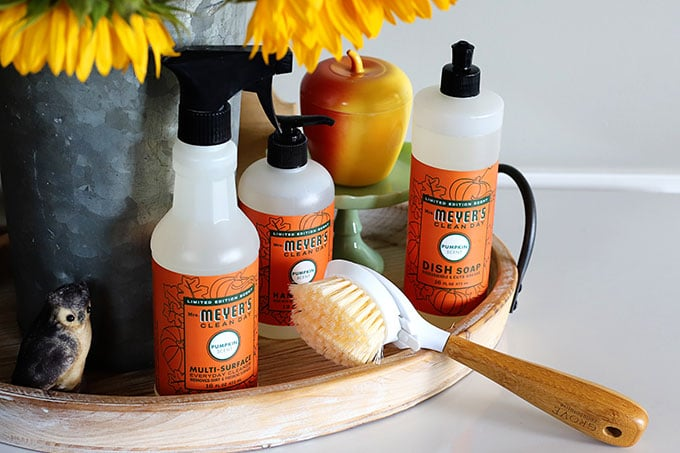 Mrs. Meyer's fall scents