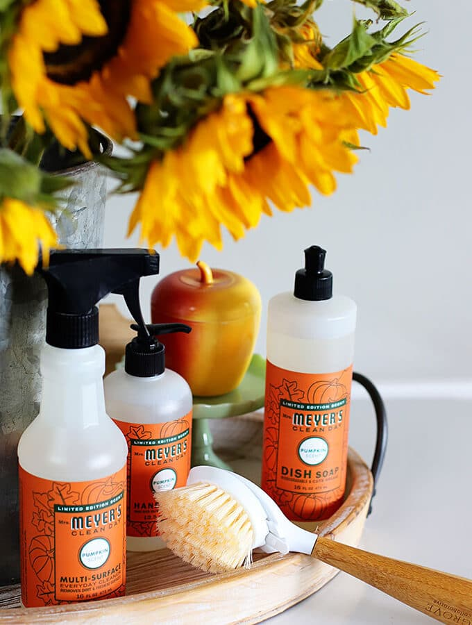 Mrs Meyers FREE Fall Cleaning Products Offer (AKA, Doing A Pumpkin Scented Happy Dance)