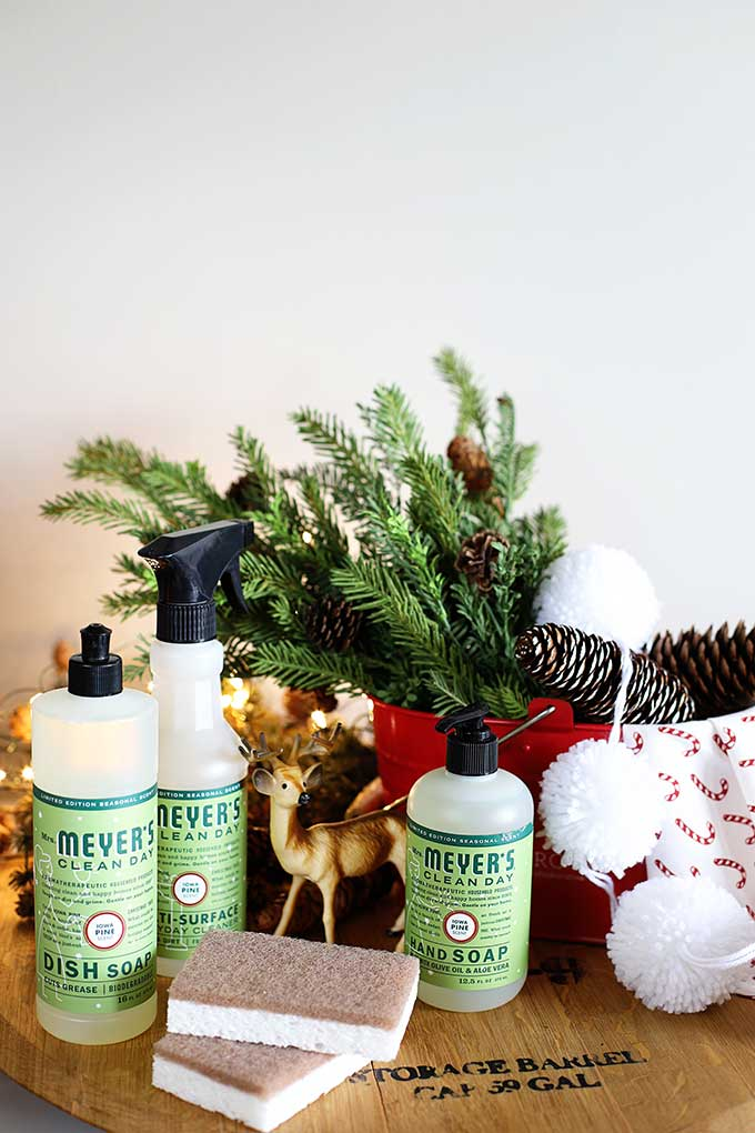 FREE Mrs Meyer's HOLIDAY cleaning set with additional purchase from Grove Collaborative. Your choice of Iowa Pine, Peppermint and Orange Clove scented cleaning supplies!