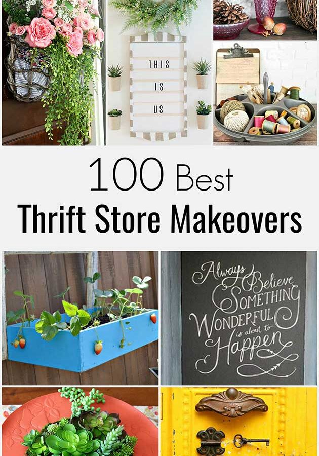 100 Best Thrift Store Makeovers