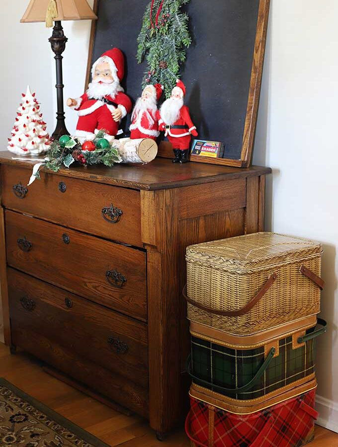 Christmas Home Tour: Thrift Store Decor Style