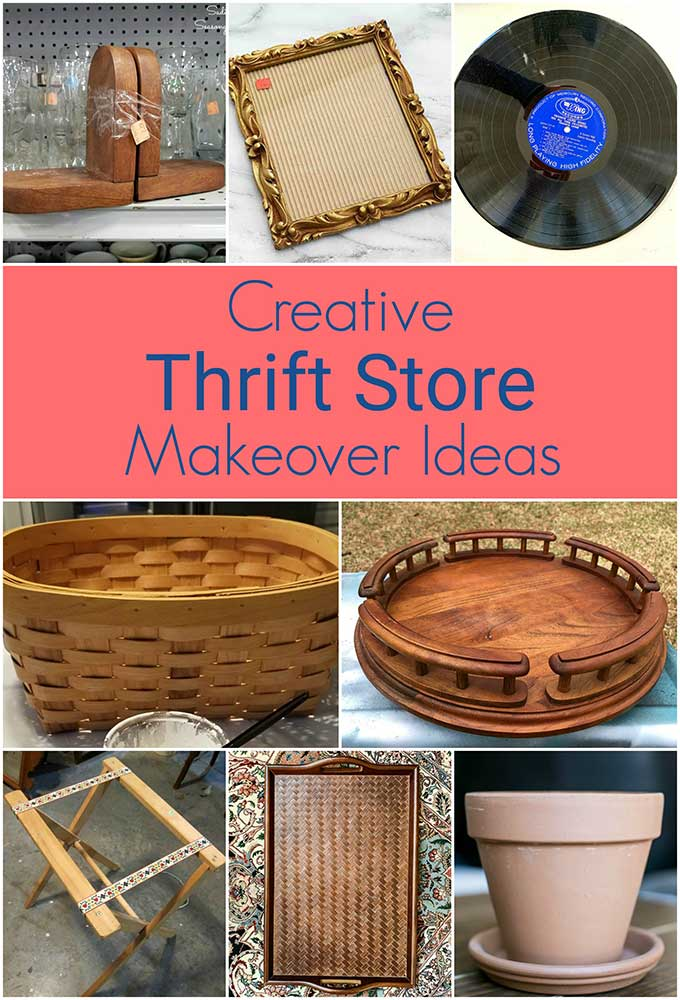 Creative ways to repurpose thrift store finds into home decor!