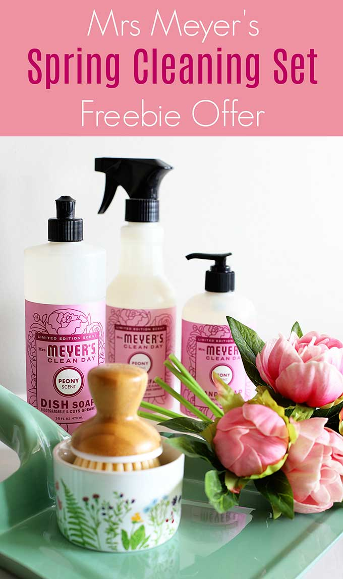 Mrs Meyer's spring cleaning offer from Grove Collaborative