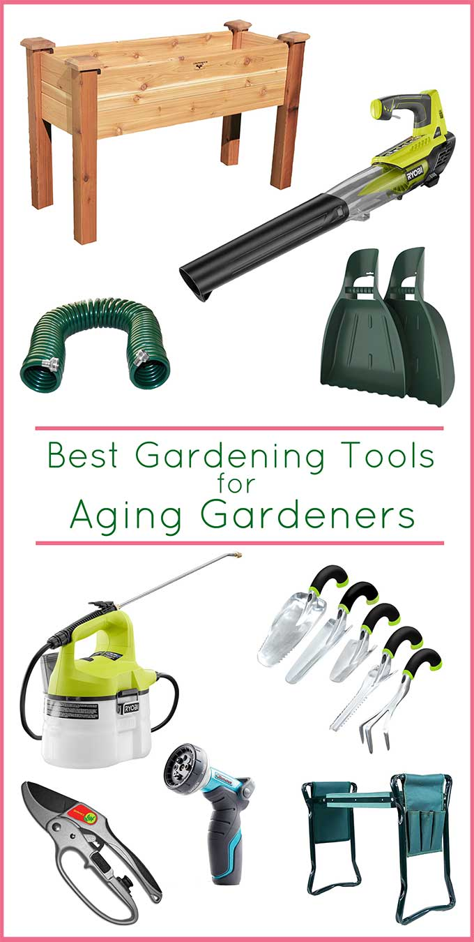 Gardening tools to make it easier for seniors to continue gardening!