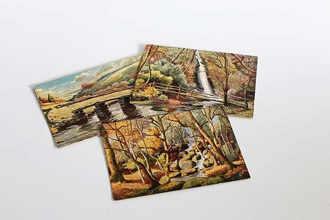 Vintage Herbert Truman postcards