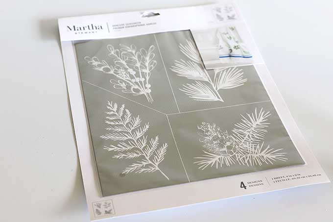 Martha Stewart Adhesive Silkscreen stencils