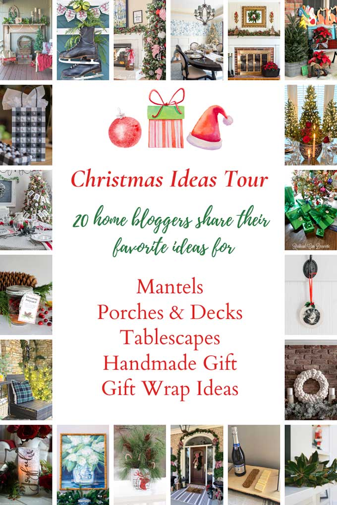 Blogger's Christmas Ideas Tour for inspiration for holiday gift ideas and home decor!