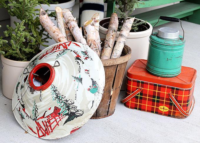 vintage Christmas tree stand
