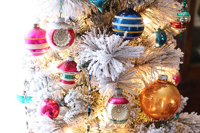 how to store vintage Christmas ornaments