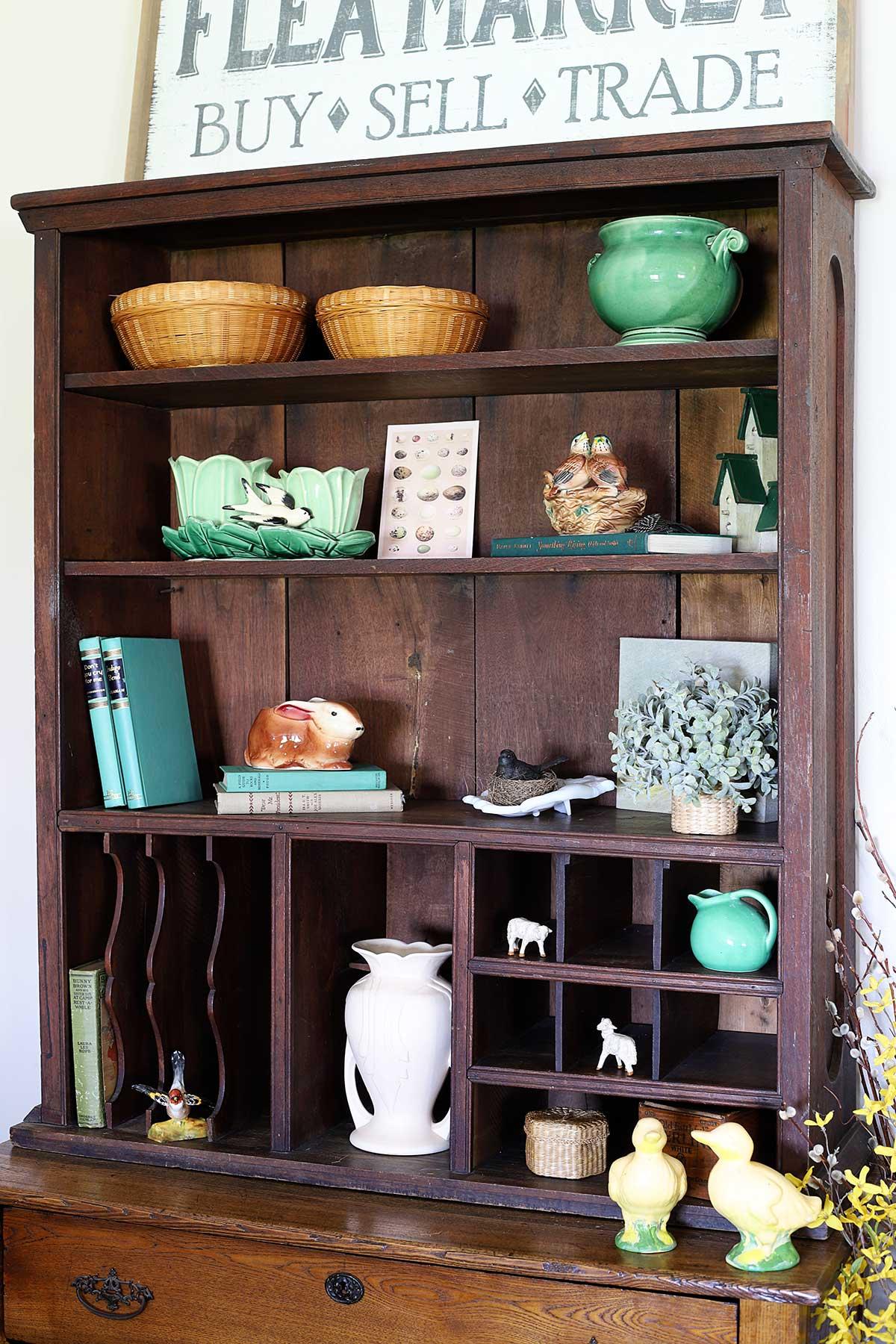 vintage spring decor