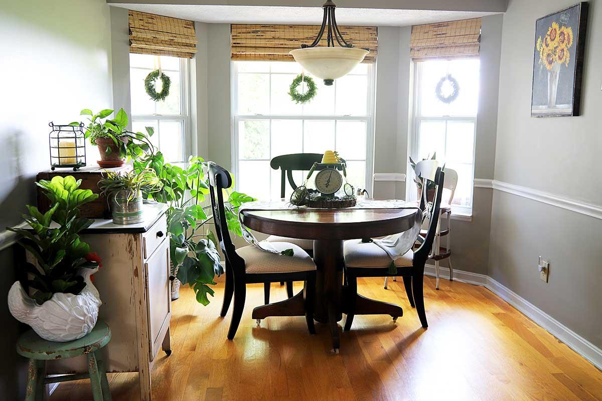 vintage eclectic kitchen decor