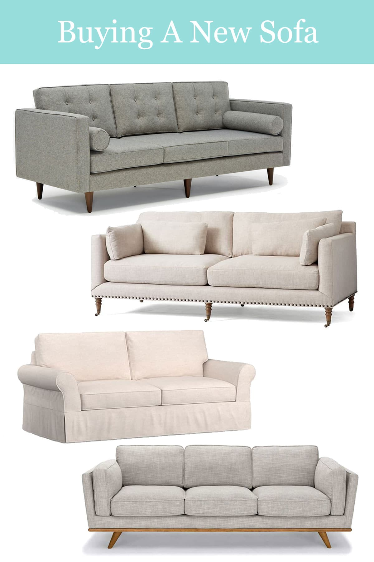 How to buy a sofa both in person and online.