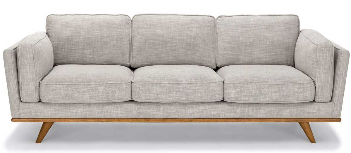 Timber sofa from Article