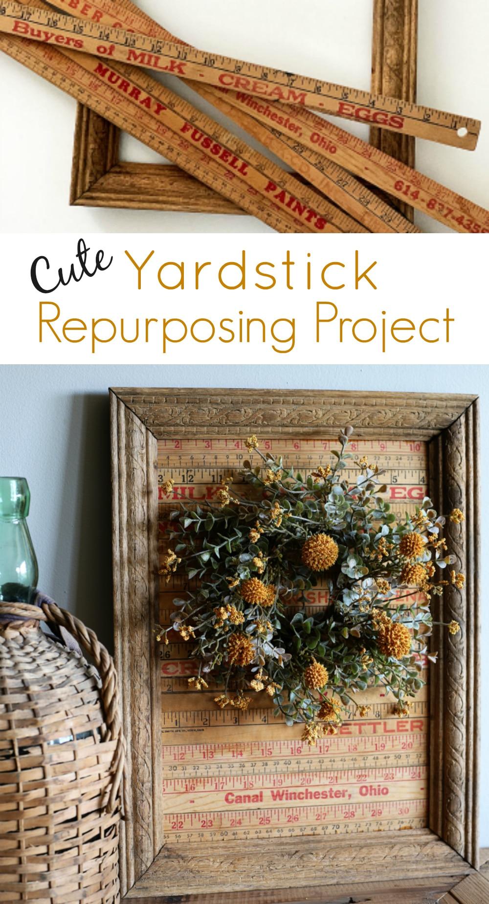 Yardstick Repurposing Project