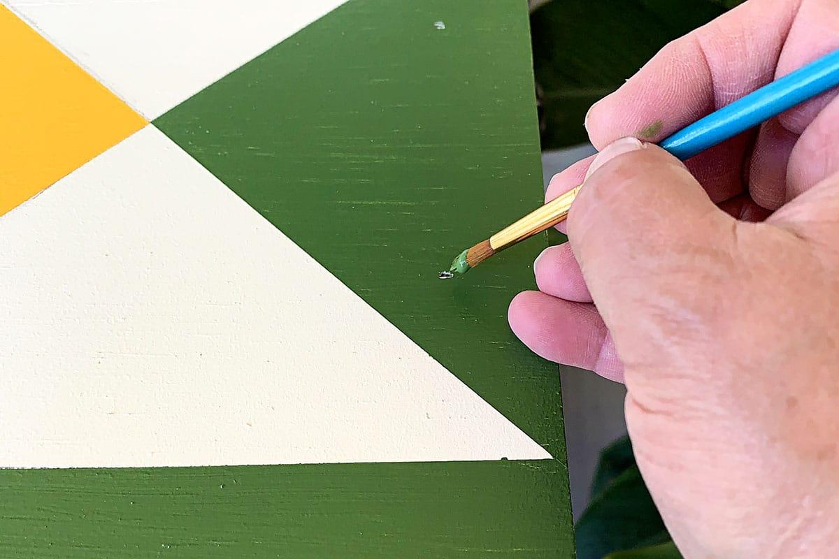 filling holes in barn star