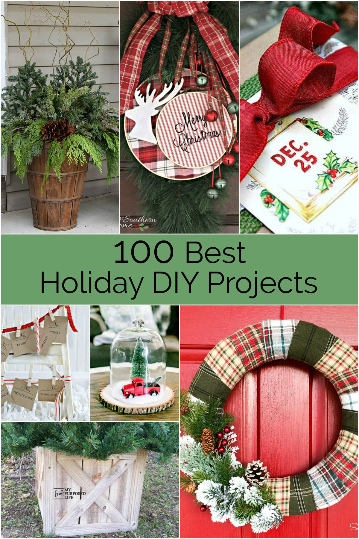 100 Best holiday DIY Projects