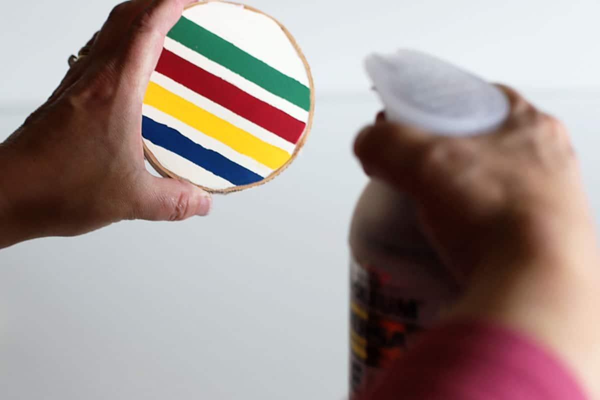 sealing coasters to make them waterproof
