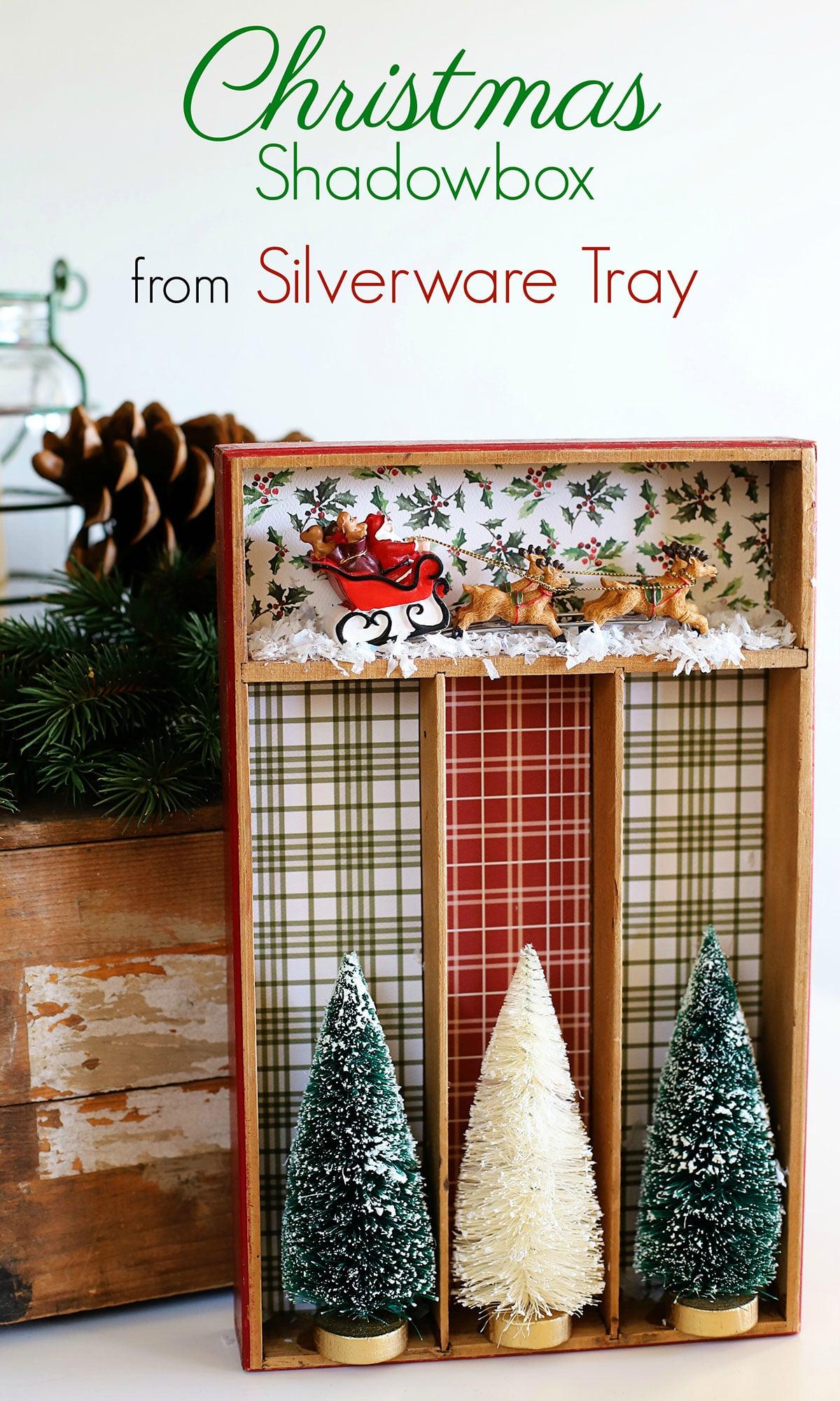 repurposed Christmas decor