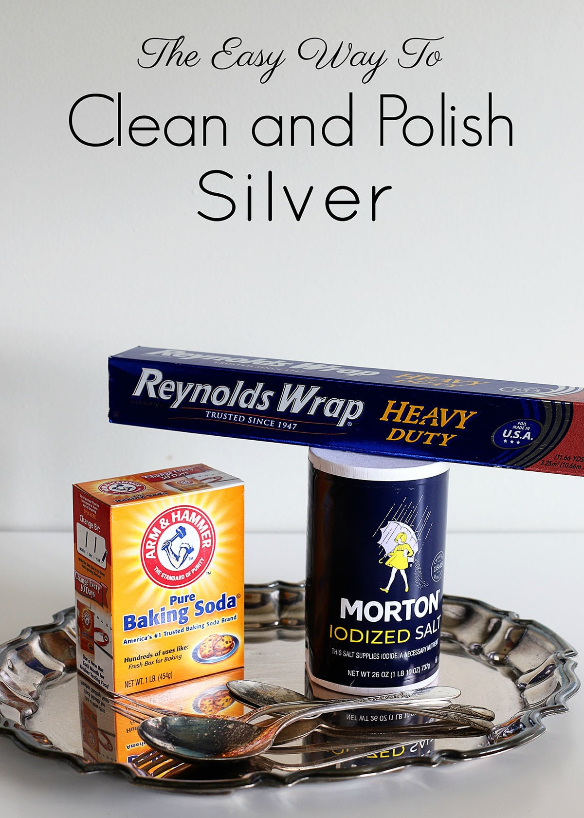 East way to clean and polish silver
