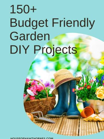 budget friendly garden DIY projects