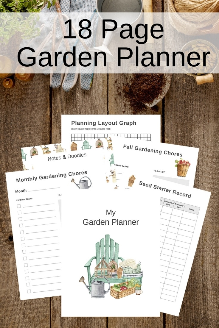printable garden planner to purchase